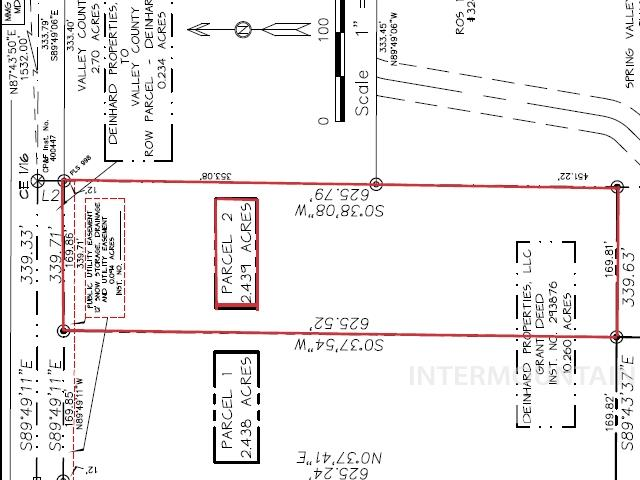 Parcel 2 Deinhard Lane Property Photo - McCall, ID real estate listing
