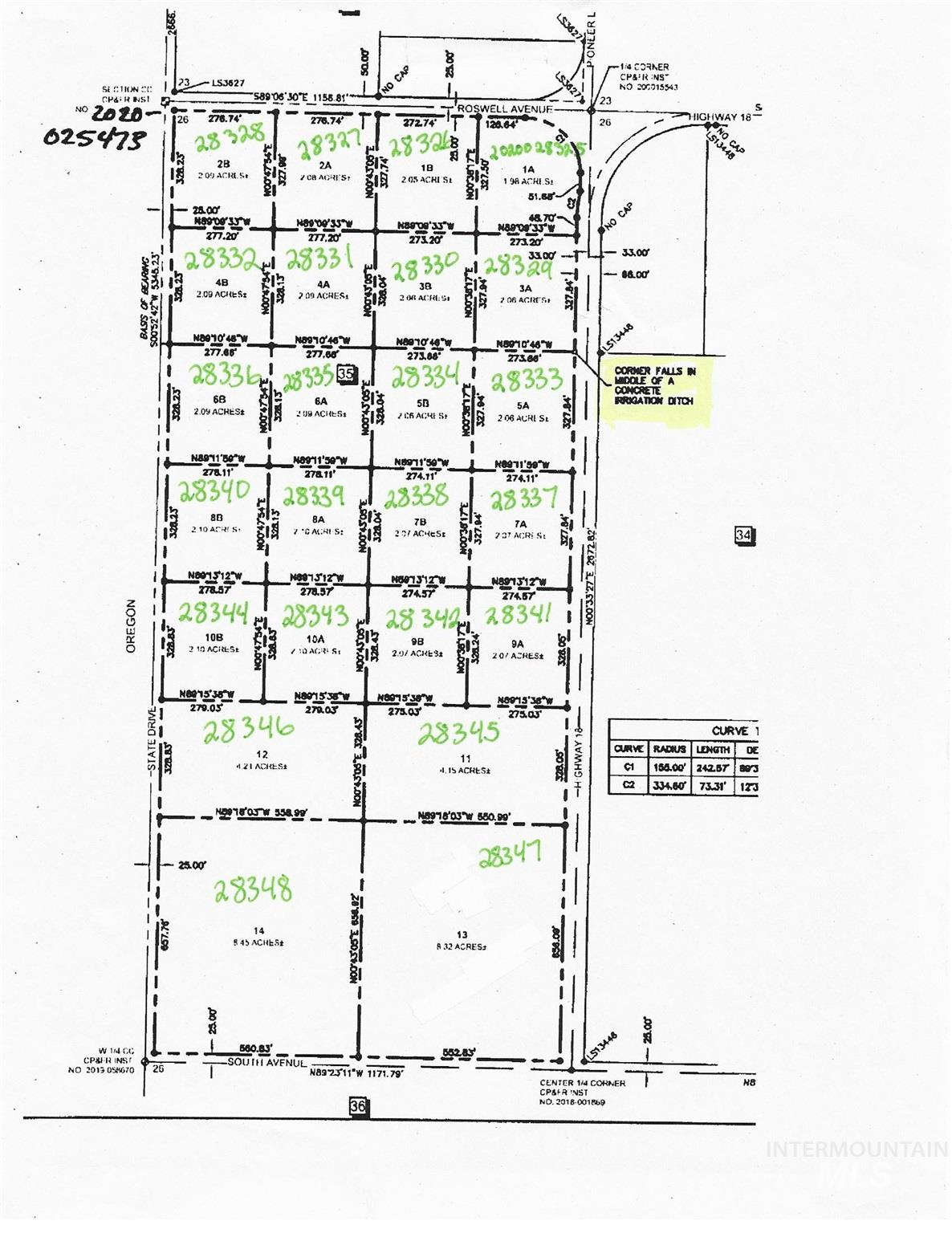 East parcel Highway 18 Property Photo - Parma, ID real estate listing
