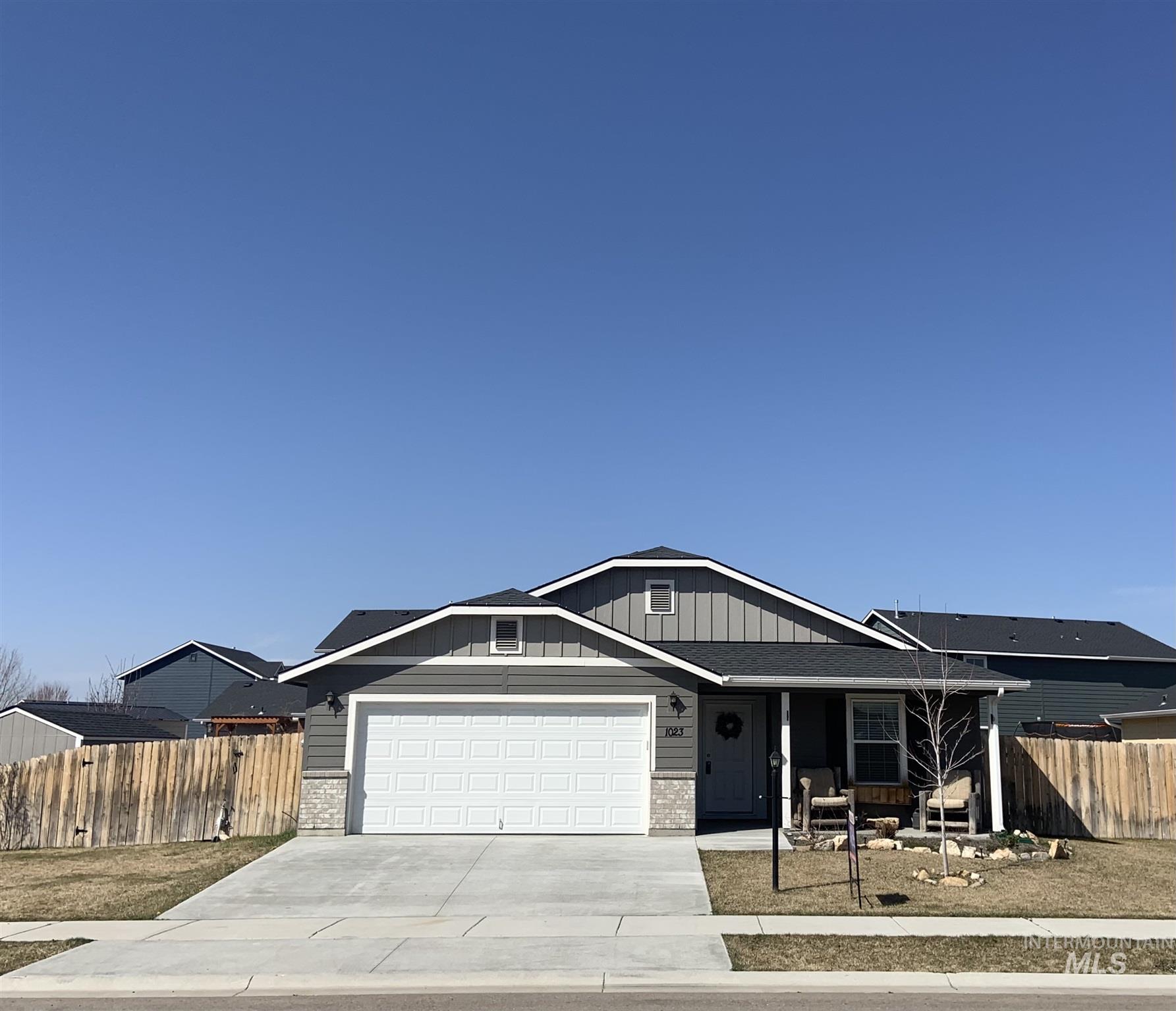 1023 Horseshoe Ct Property Photo - Middleton, ID real estate listing