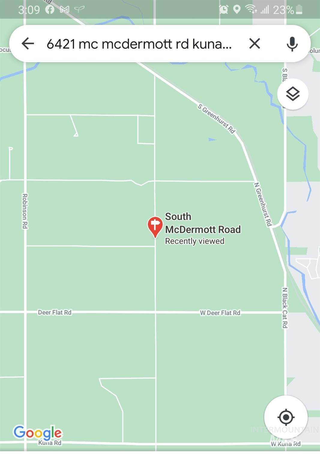 6421 Mc Dermott Rd. Property Photo - Kuna, ID real estate listing