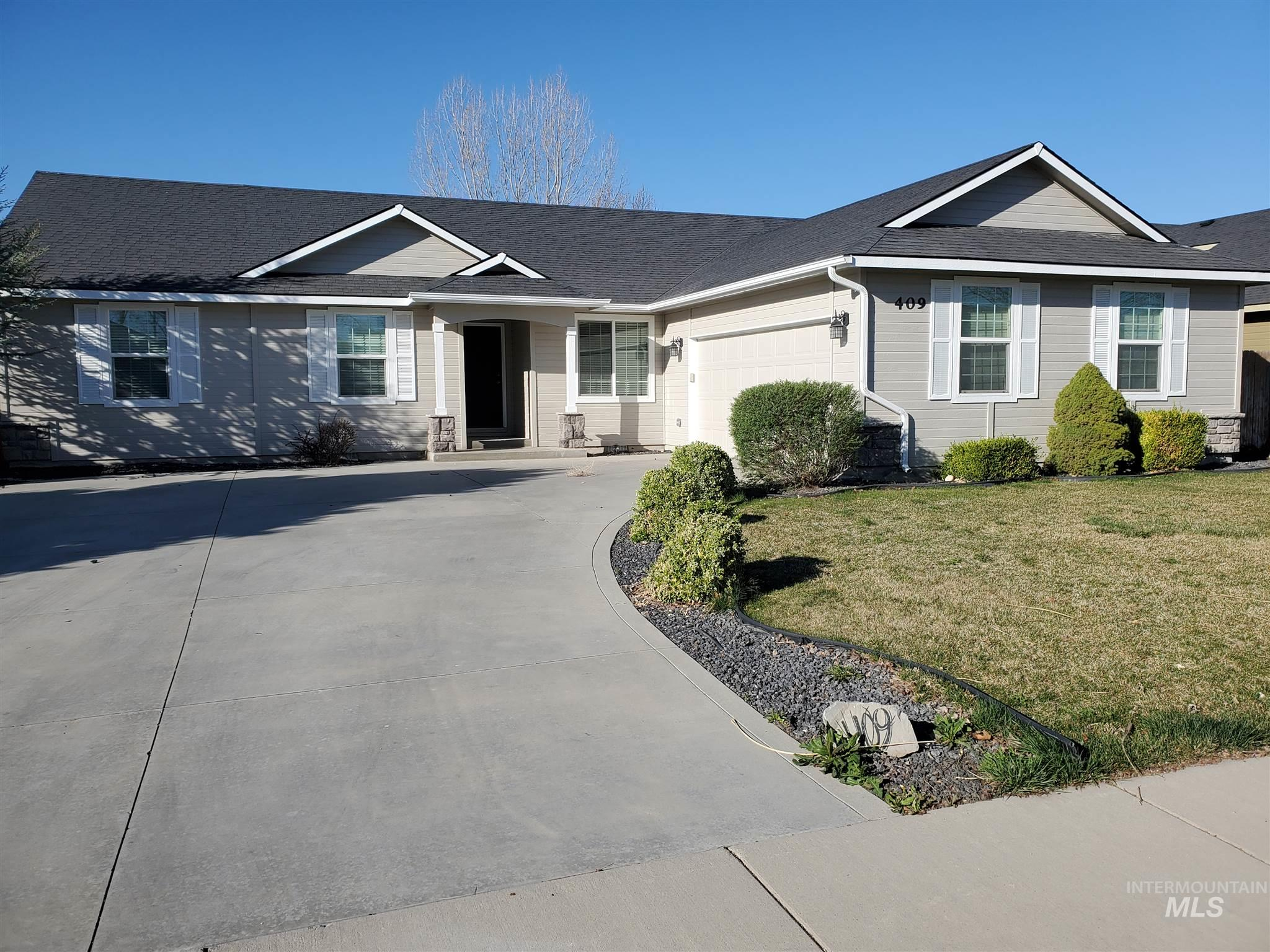 409 N Summerwind Dr. Property Photo - Nampa, ID real estate listing