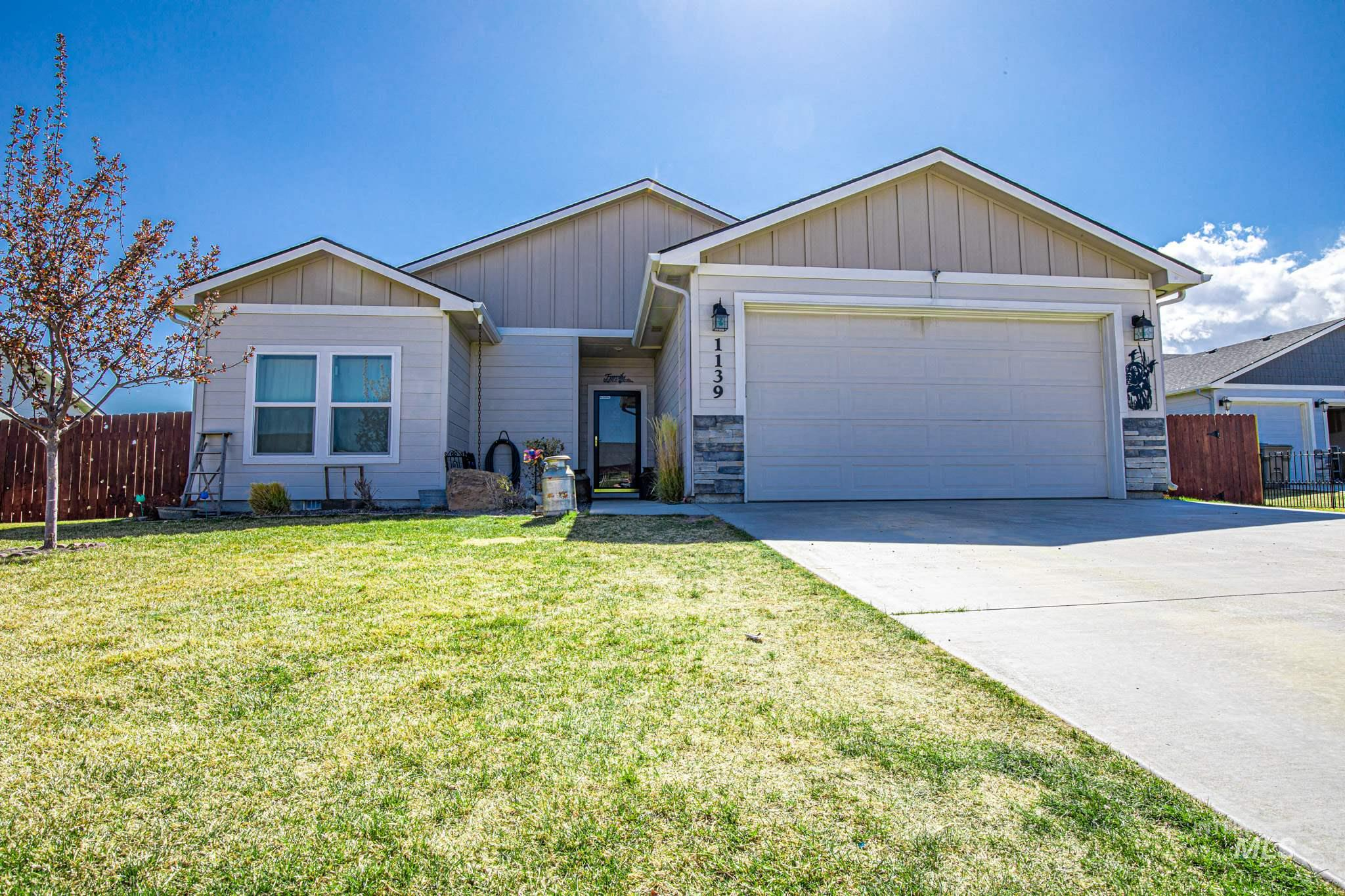 1139 Karn Ave. Property Photo - Wilder, ID real estate listing