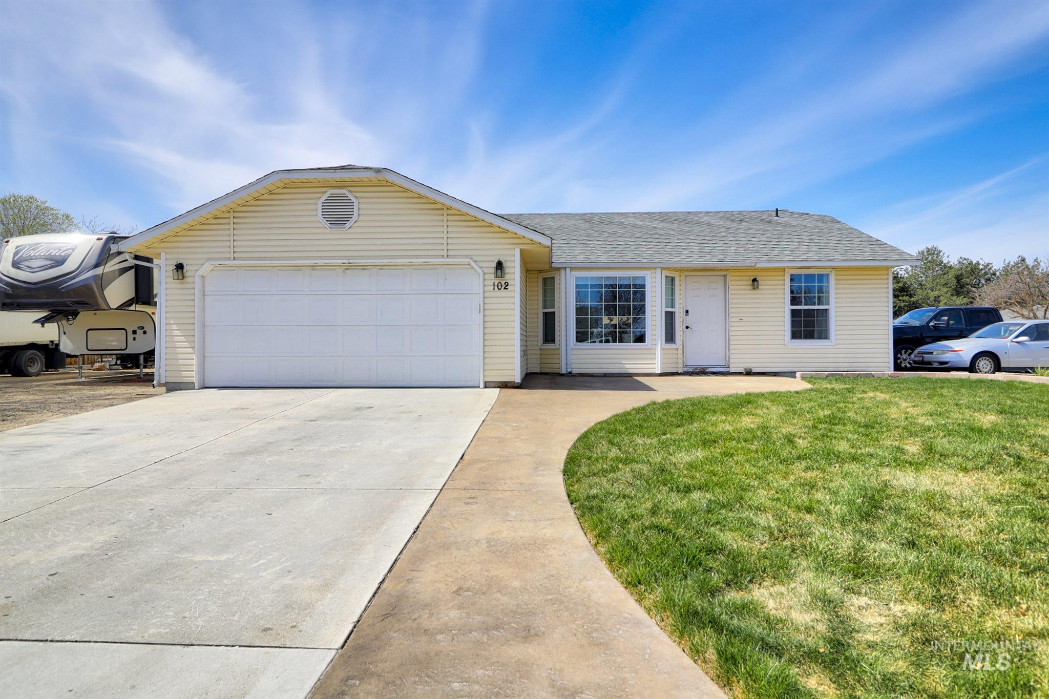 102 Marjorie Ave Property Photo - Middleton, ID real estate listing
