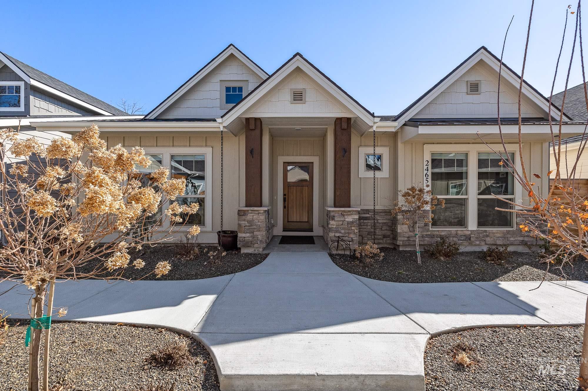 2465 N Birchgrove Lane Property Photo - Boise, ID real estate listing