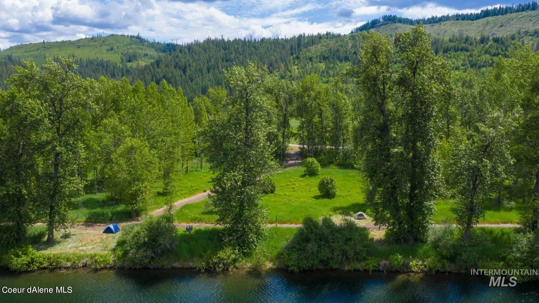 NKA Railroad Grade Rd. Parcel A-2 Property Photo - St. Maries, ID real estate listing