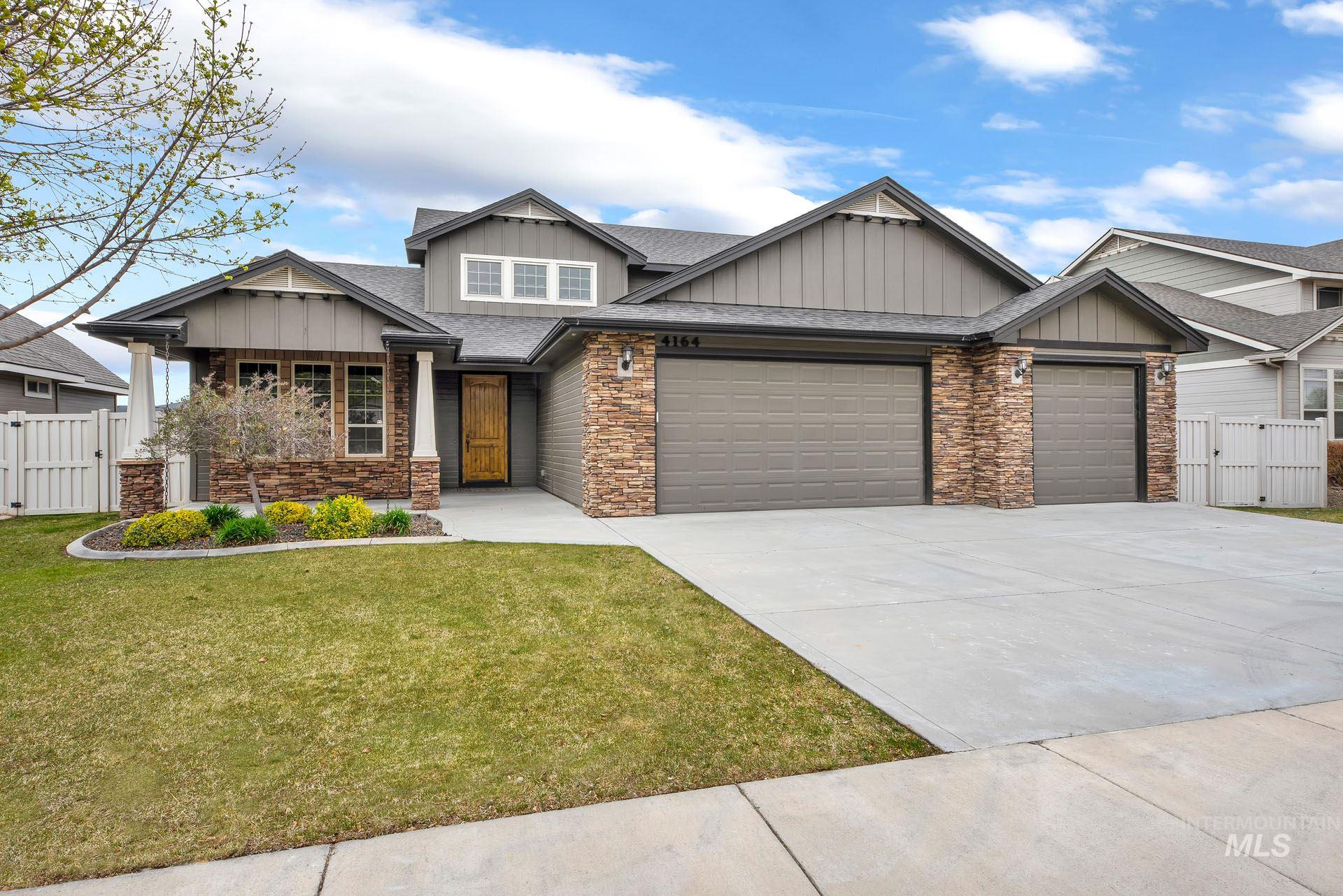 4164 Pine Bluff Property Photo - Meridian, ID real estate listing