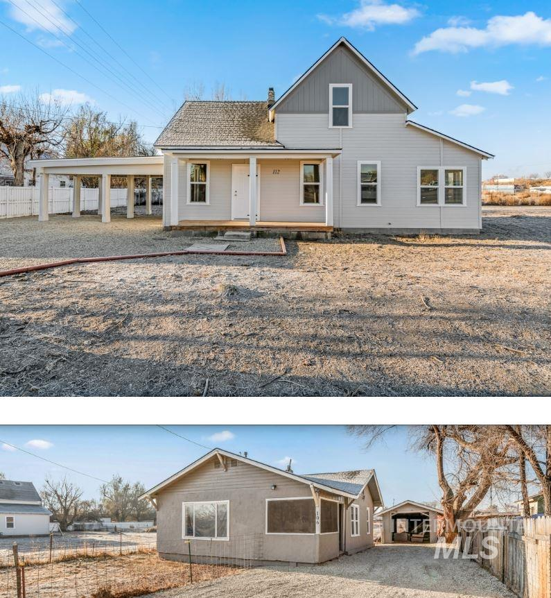 106 & 112 W Belmont Street Property Photo - Caldwell, ID real estate listing
