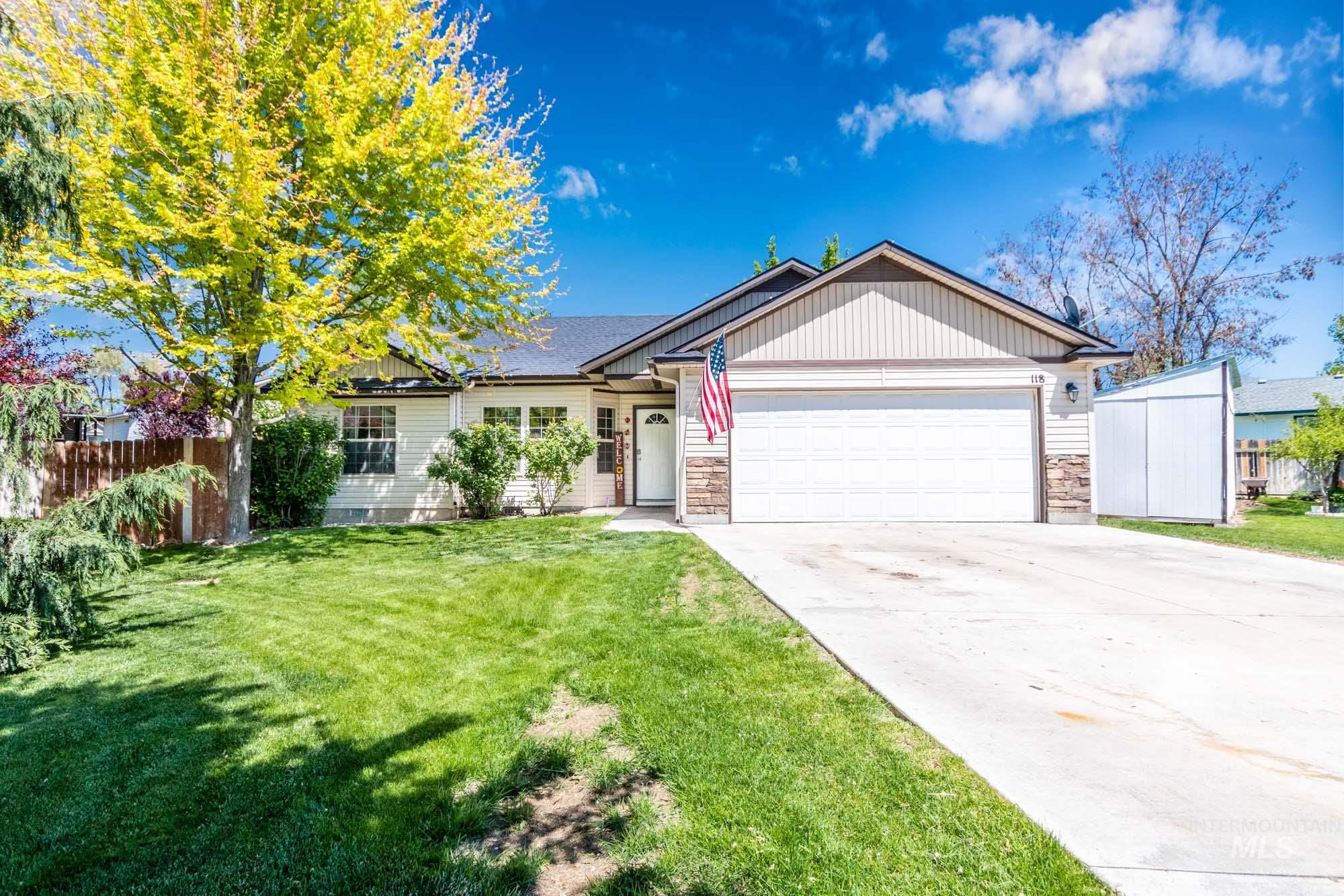 118 S Taffy Dr. Property Photo - Nampa, ID real estate listing