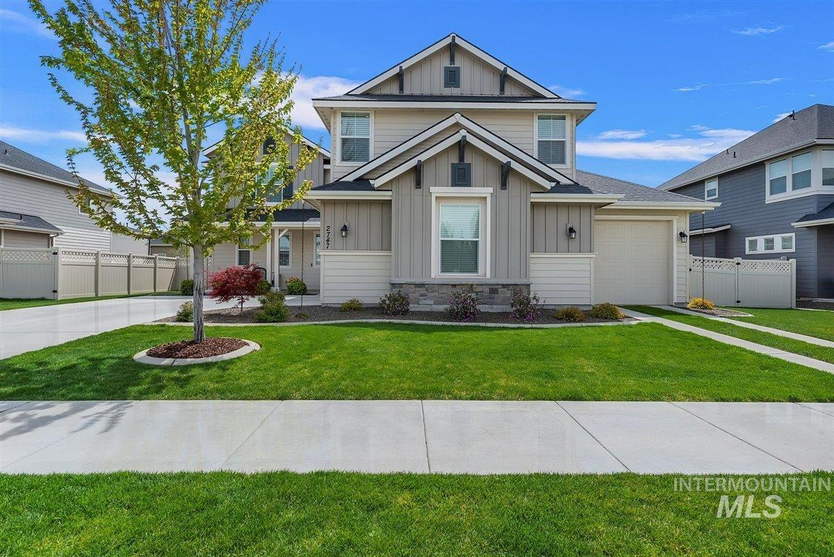2747 W Teano Property Photo - Meridian, ID real estate listing