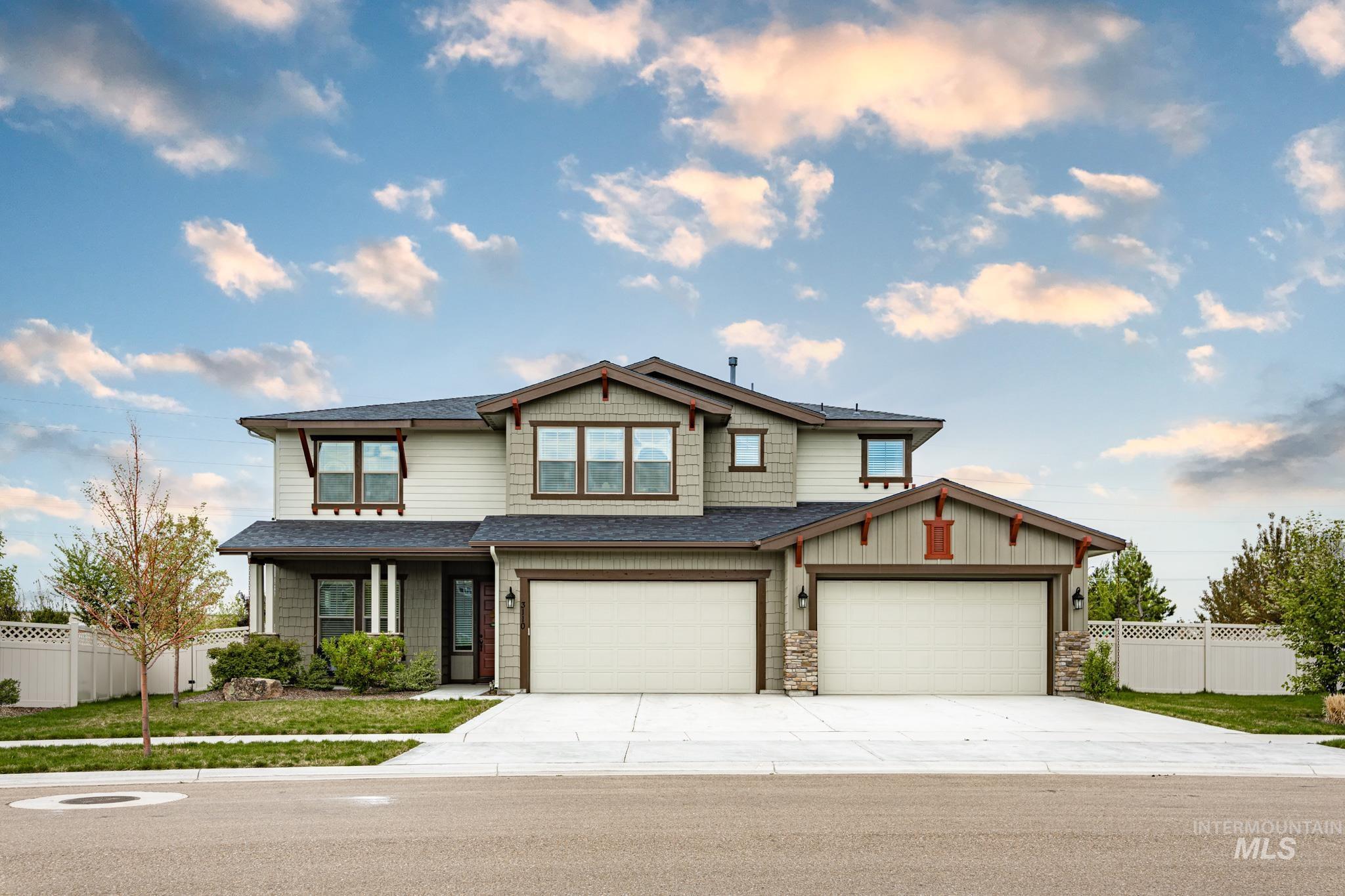 3110 W Alzano Dr Property Photo - Meridian, ID real estate listing