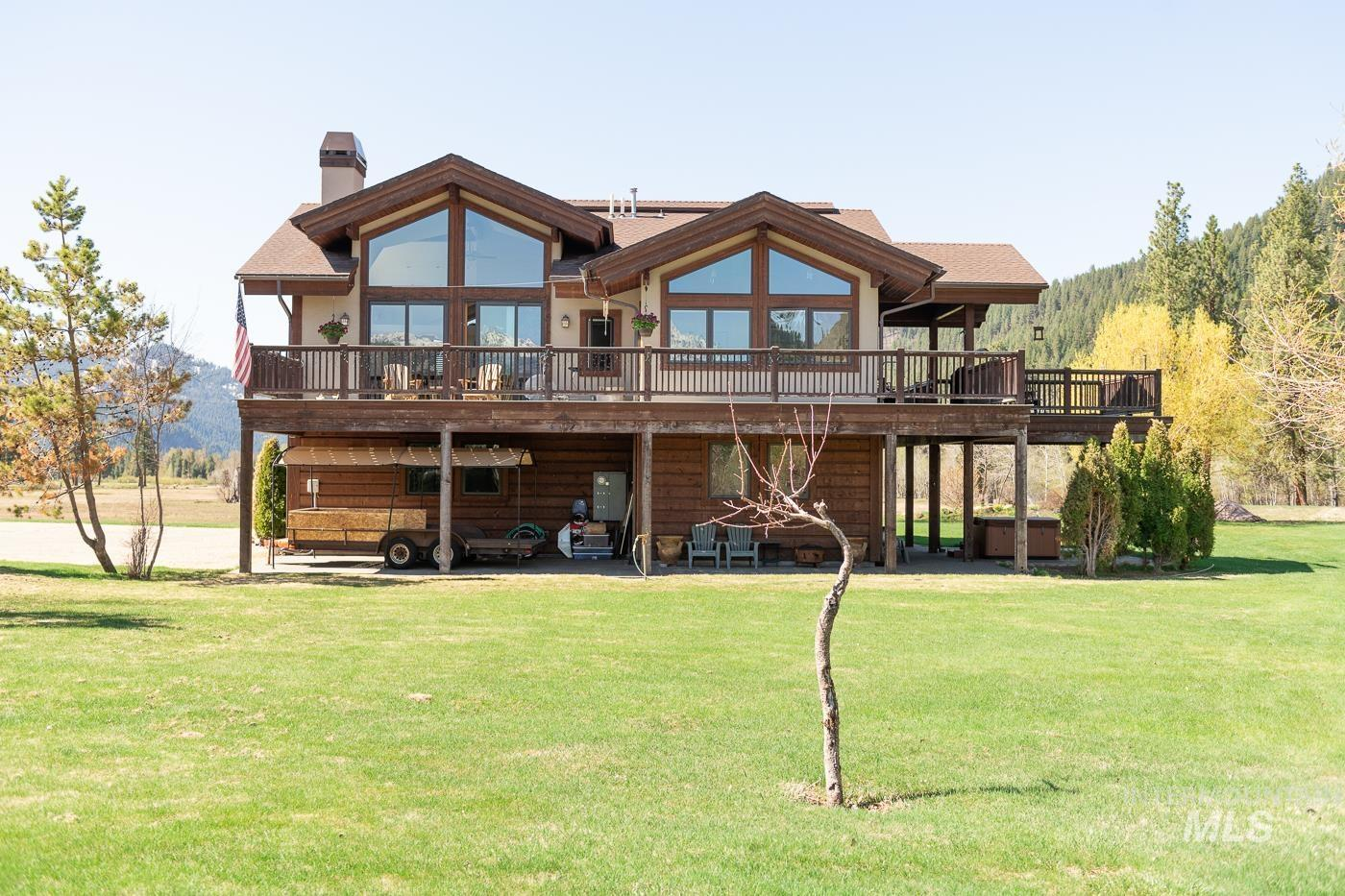 3793 N Rawah Dr Property Photo - Featherville, ID real estate listing