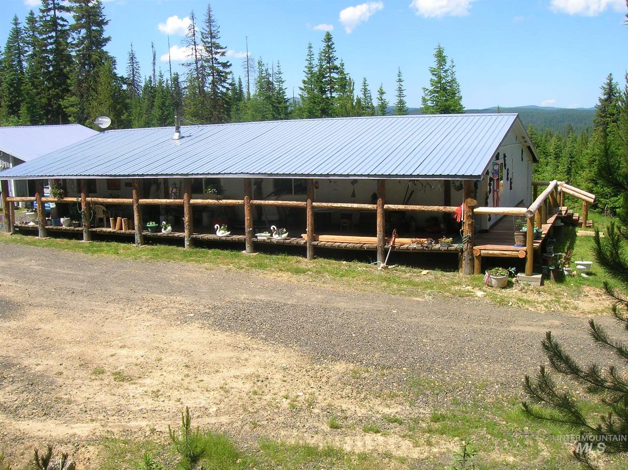 357 Hidden Springs Road Property Photo - Elk City, ID real estate listing
