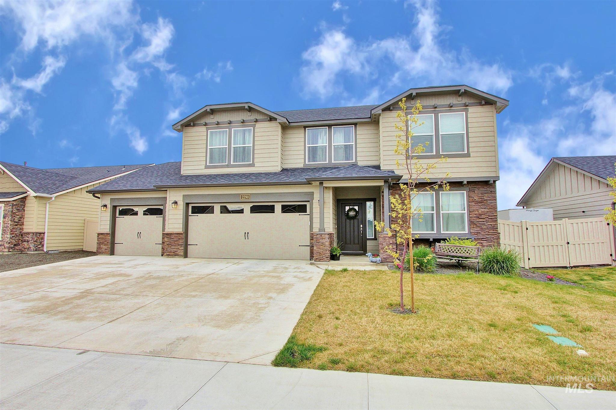 2290 W Coneflower Property Photo - Nampa, ID real estate listing