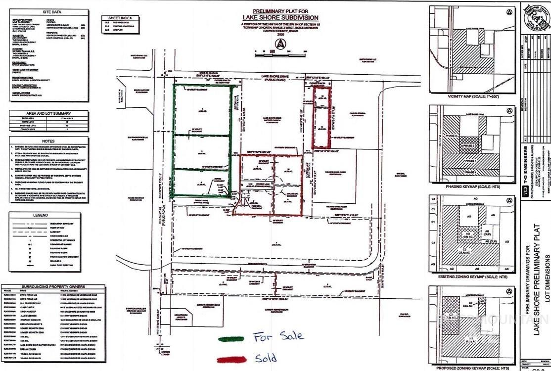 000 Caribou Lane (Lot 5) Property Photo - Nampa, ID real estate listing
