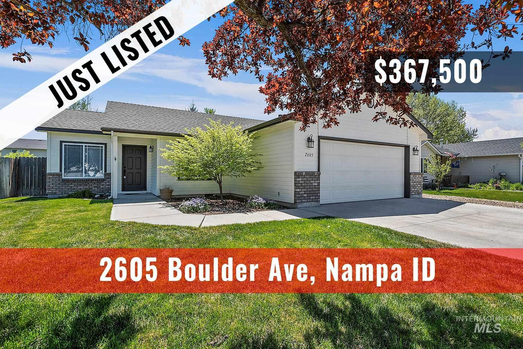 2605 Boulder Avenue Property Photo - Nampa, ID real estate listing