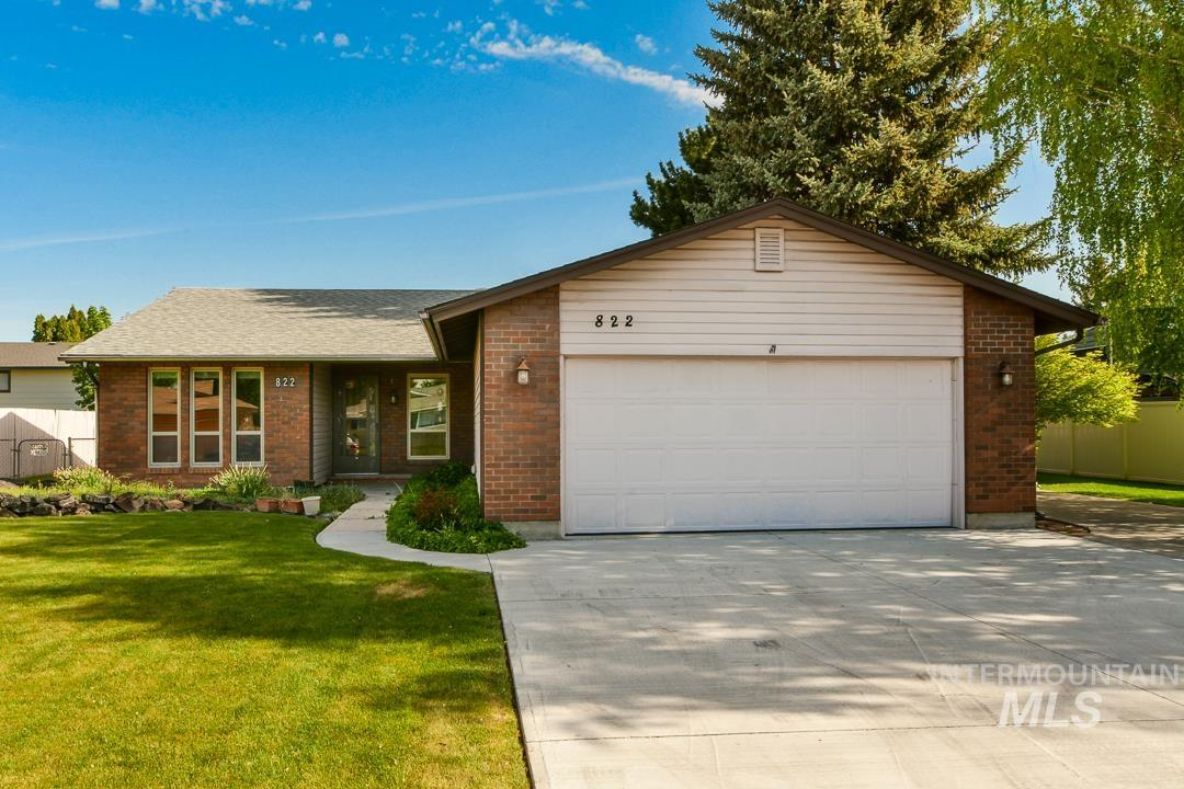 822 Cairn Drive Property Photo - Nampa, ID real estate listing