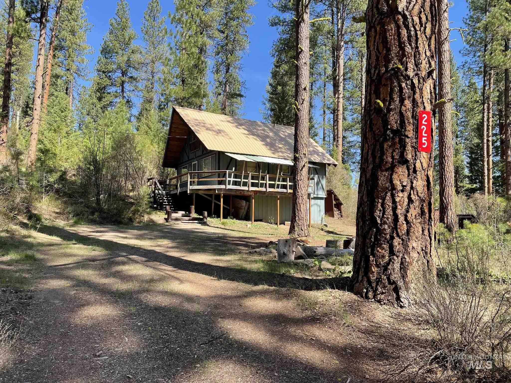 225 Mesplie Rd. Property Photo - Placerville, ID real estate listing