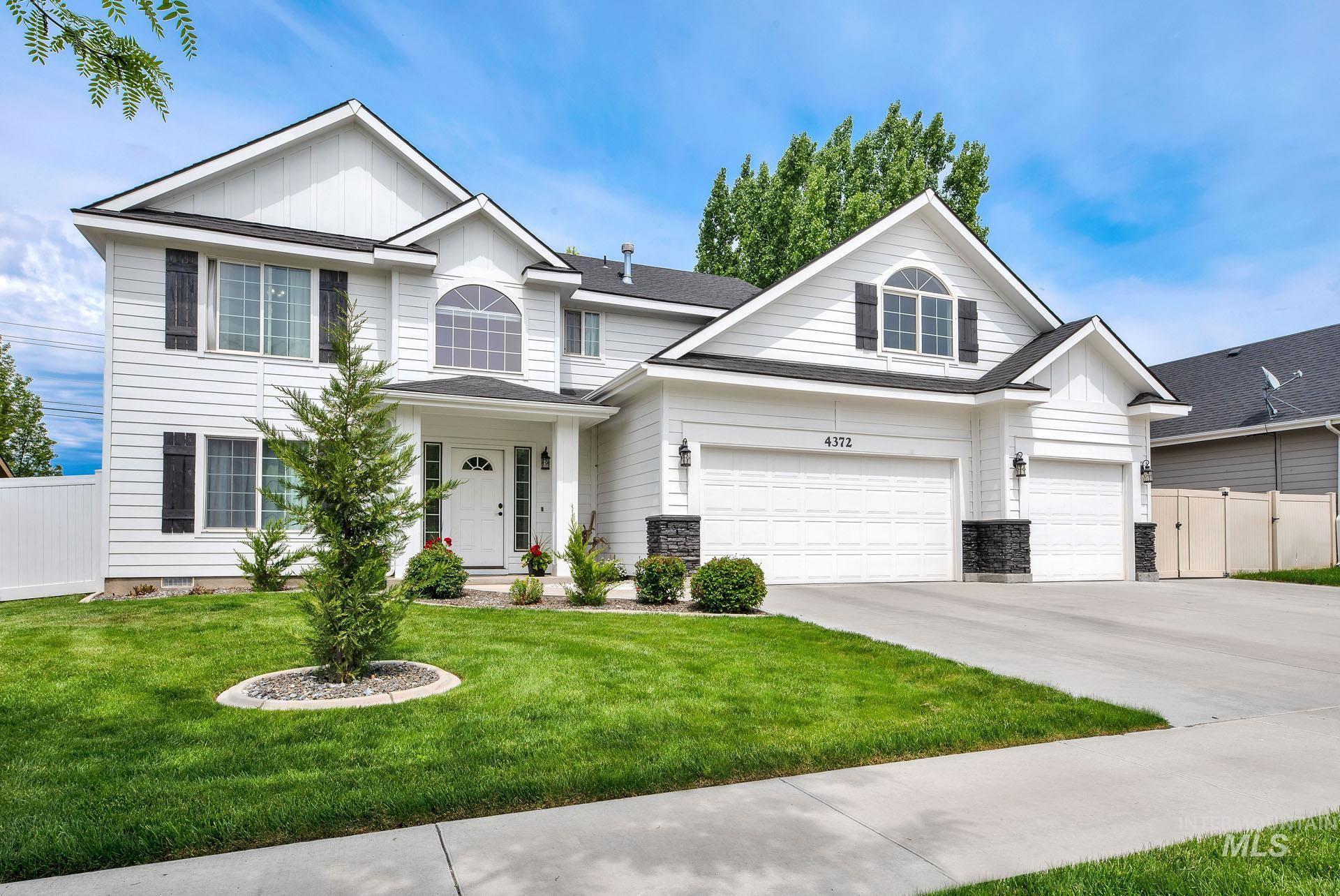 4372 E Burgundy Drive Property Photo - Nampa, ID real estate listing