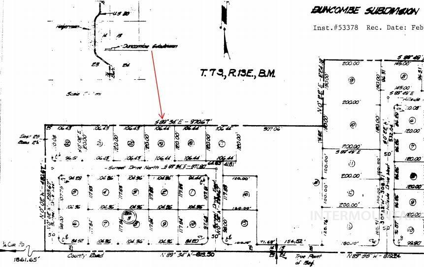 Tbd Sunset Drive North - Lot 19 Property Photo