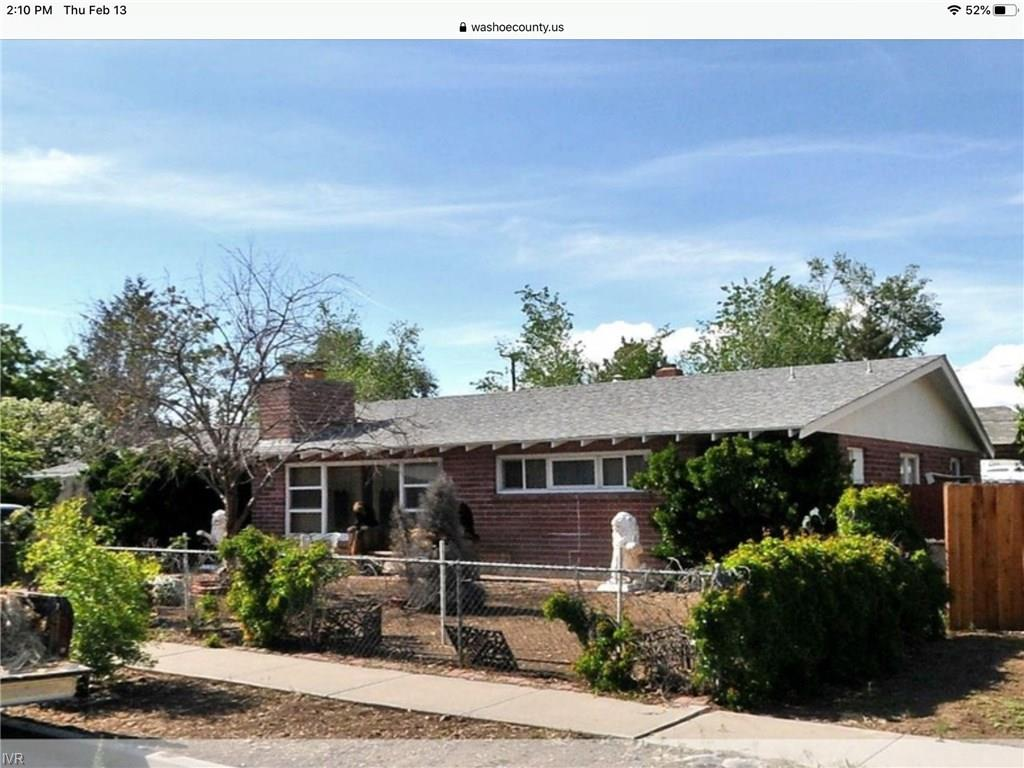 910 E Street Property Photo - Sparks, NV real estate listing