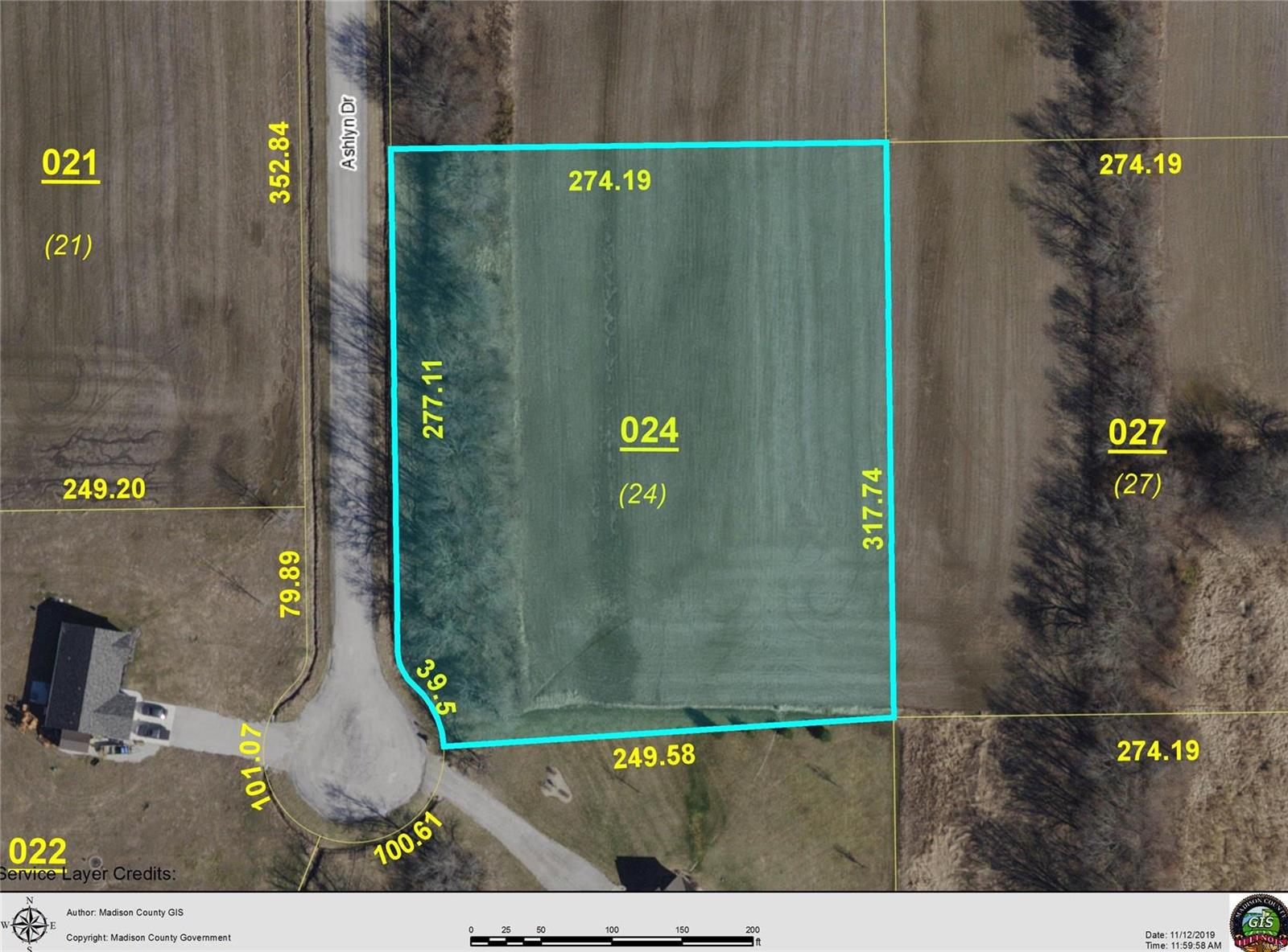 4608 ASHLYN LOT 24 Drive Property Photo - Pocahontas, IL real estate listing