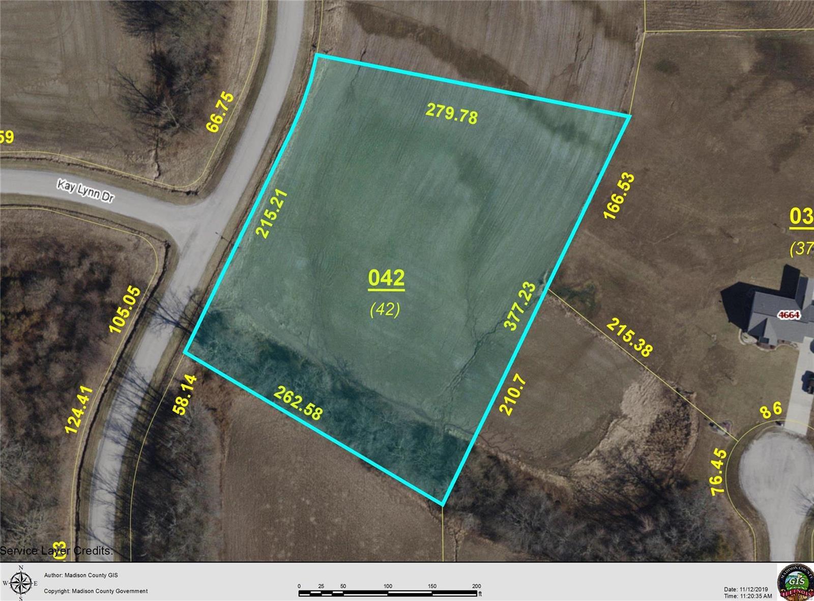 4656 ASHLYN LOT 42 Drive Property Photo - Pocahontas, IL real estate listing