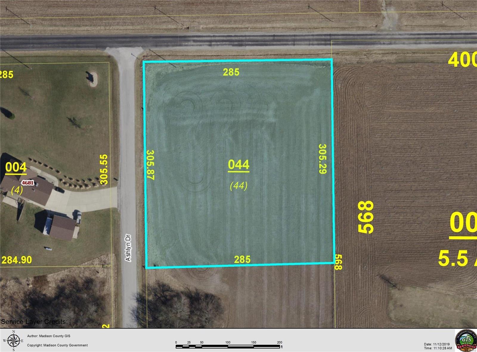 4680 ASHLYN LOT 44 Drive Property Photo - Pocahontas, IL real estate listing