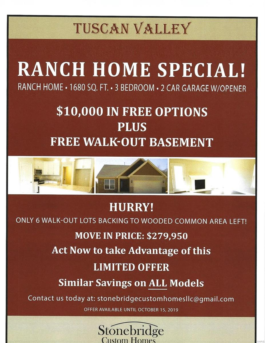 3168 TBB Tuscan Valley Estates Court Property Photo - Arnold, MO real estate listing