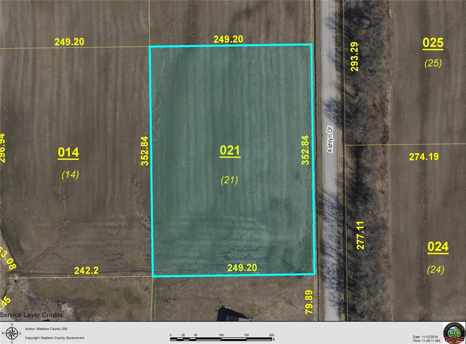 4613 ASHLYN LOT 21 Drive Property Photo - Pocahontas, IL real estate listing