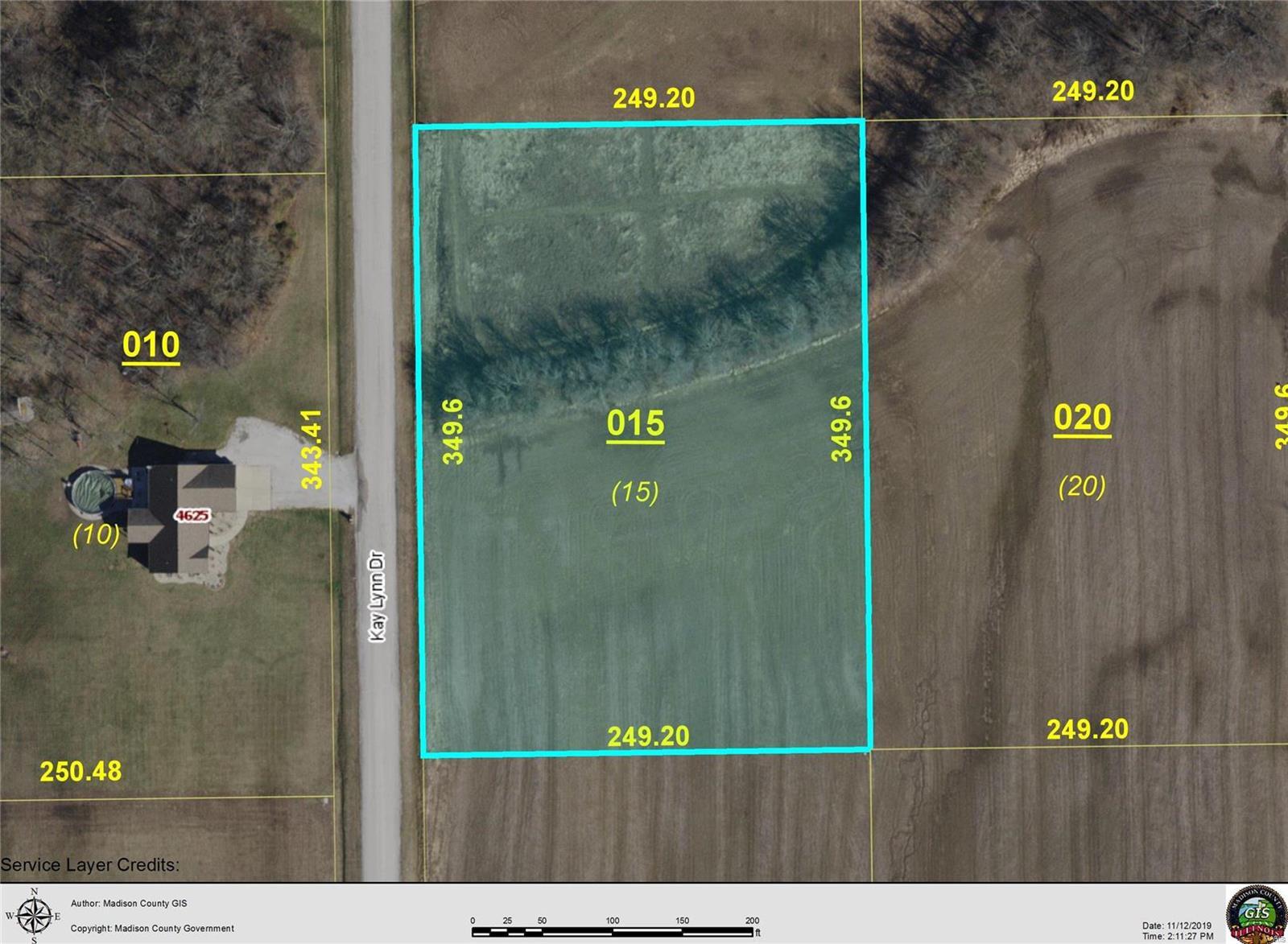 4624 KAY LYNN LOT 15 Drive Property Photo - Pocahontas, IL real estate listing