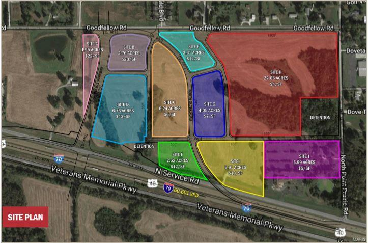 0 I-70 and Point Prairie Property Photo - Wentzville, MO real estate listing