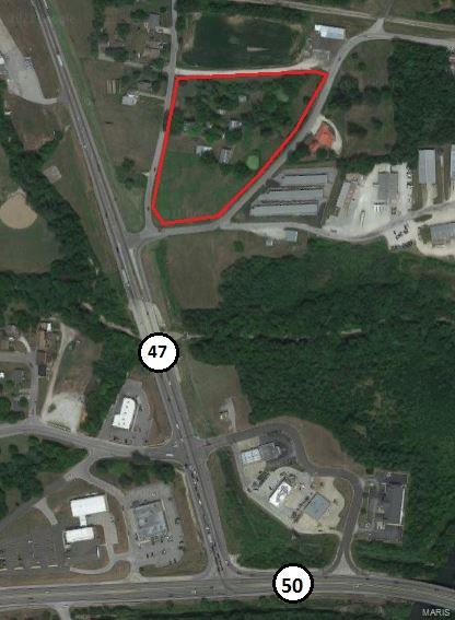 700 Rock Road 5.76+/- ac Property Photo - Union, MO real estate listing