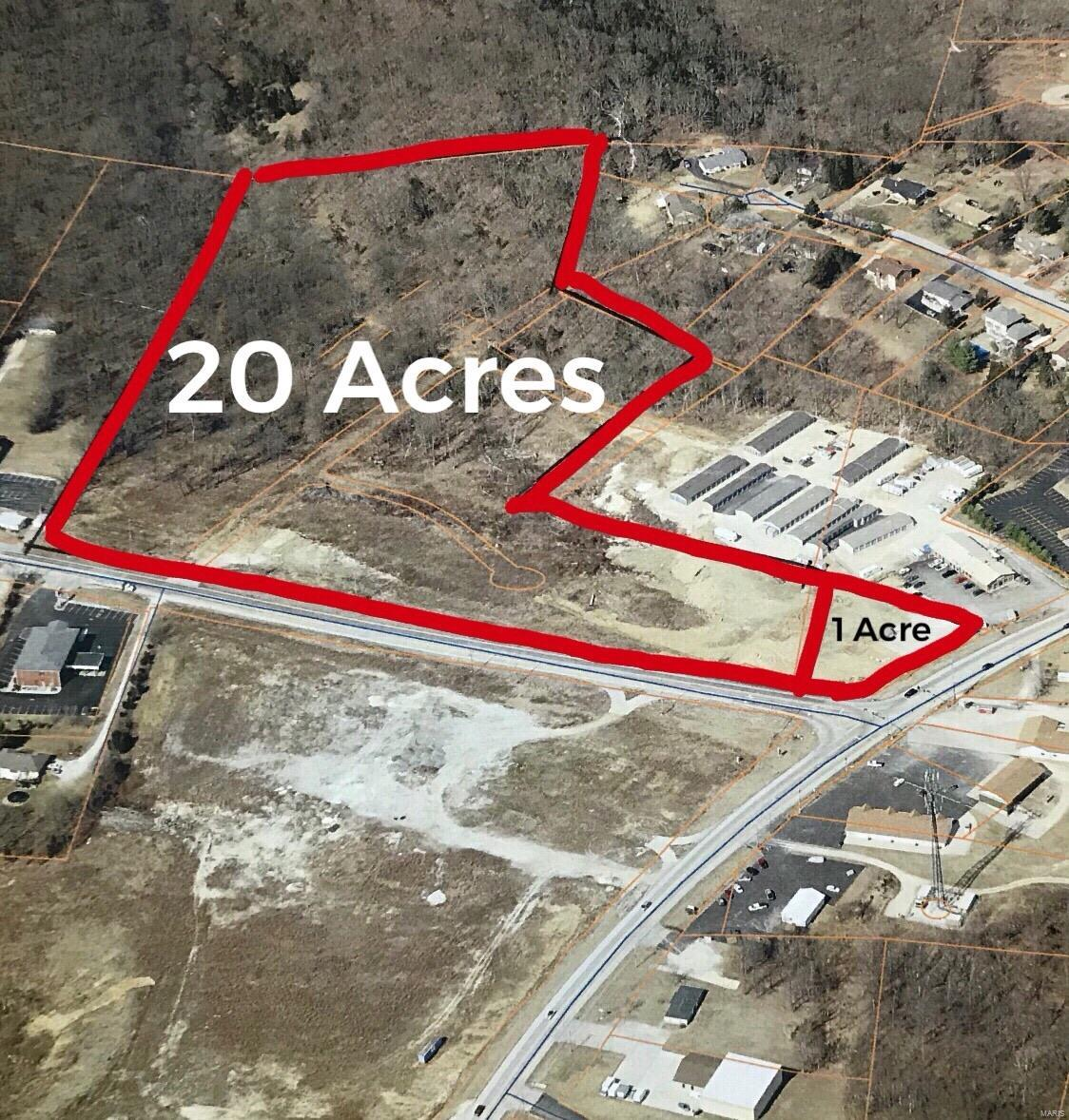 0 20 acres Hwy B & Hwy 21 Property Photo - Hillsboro, MO real estate listing