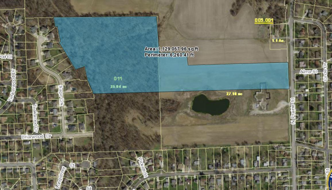800 BLOCK OF PRAIRIE ST Property Photo - Bethalto, IL real estate listing
