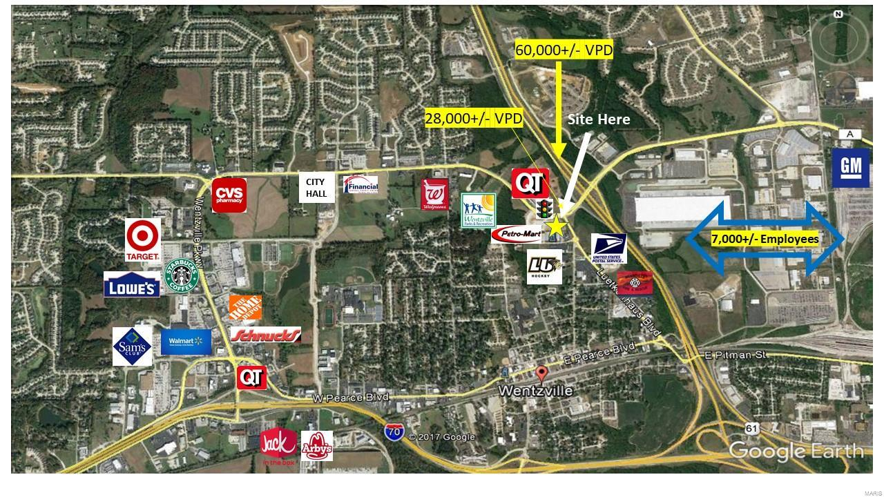 0 Wentzville Pkwy/Hwy 40. Property Photo - Wentzville, MO real estate listing