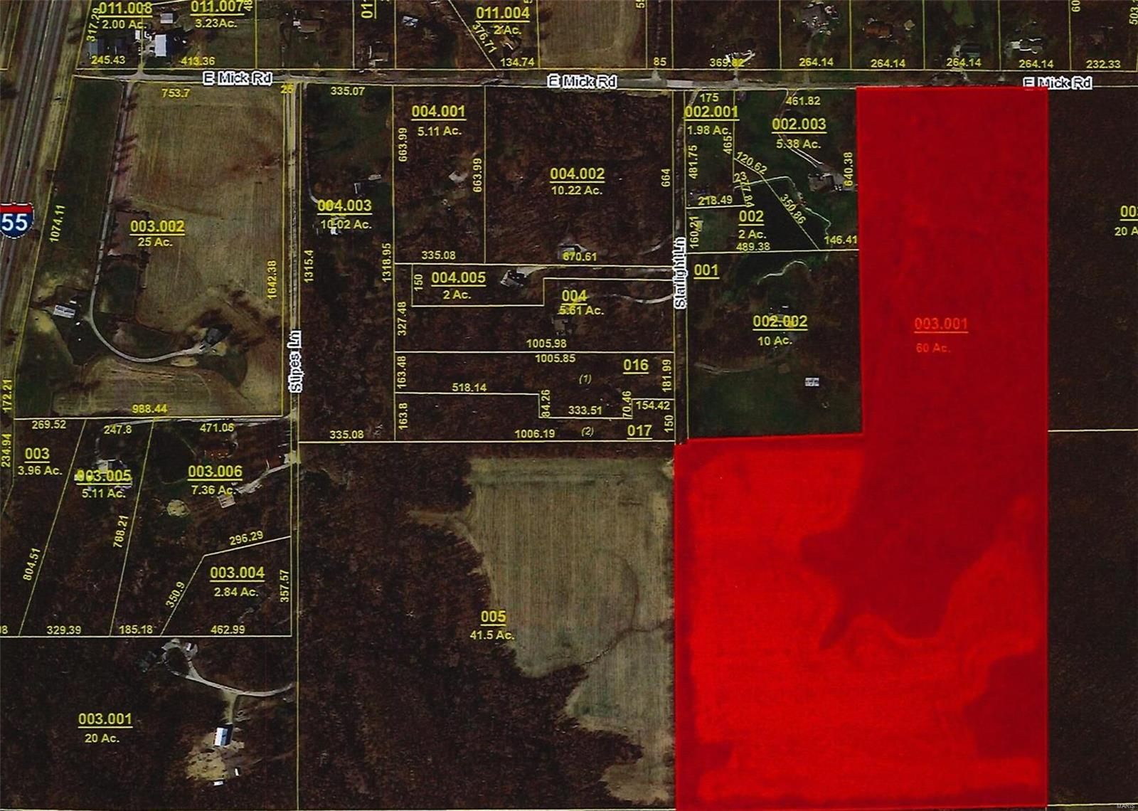 8050 E Mick Road Property Photo - Edwardsville, IL real estate listing