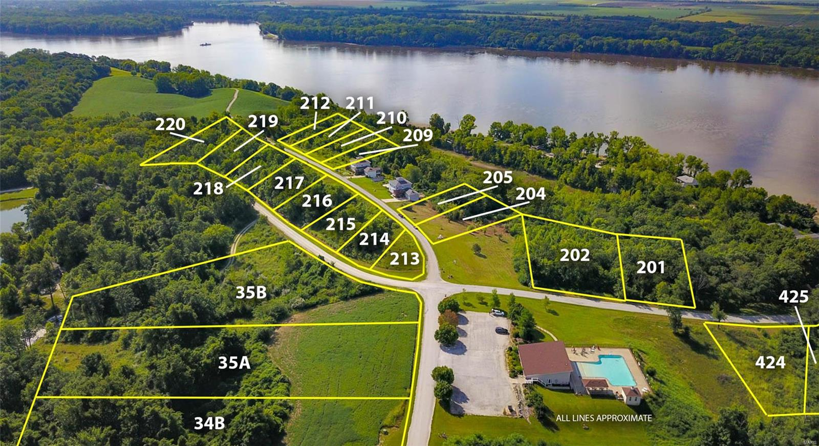 201 Quarry Road Property Photo - Golden Eagle, IL real estate listing