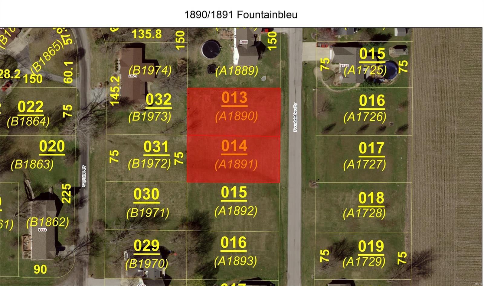 1890 Fountainbleu Drive Property Photo - Worden, IL real estate listing