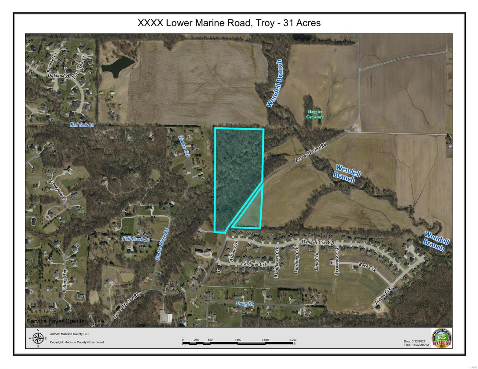 0 Lower Marine Rd Property Photo - Troy, IL real estate listing