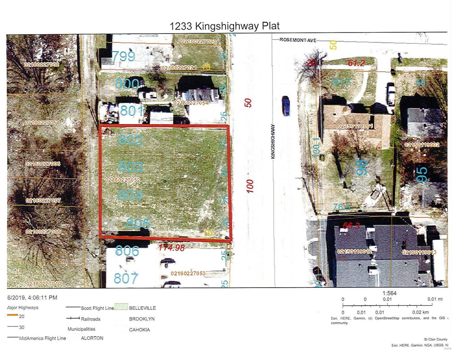 1233 Kingshighway Property Photo - Washington Park, IL real estate listing
