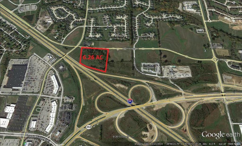 0 6.26+/- Acres Hwy 64 Frontage Property Photo - Lake St Louis, MO real estate listing