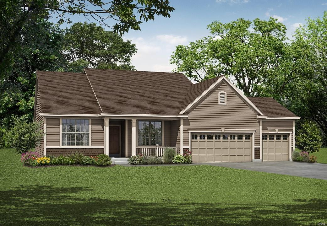 1 Geneva II @ Alexander Woods Property Photo - Chesterfield, MO real estate listing