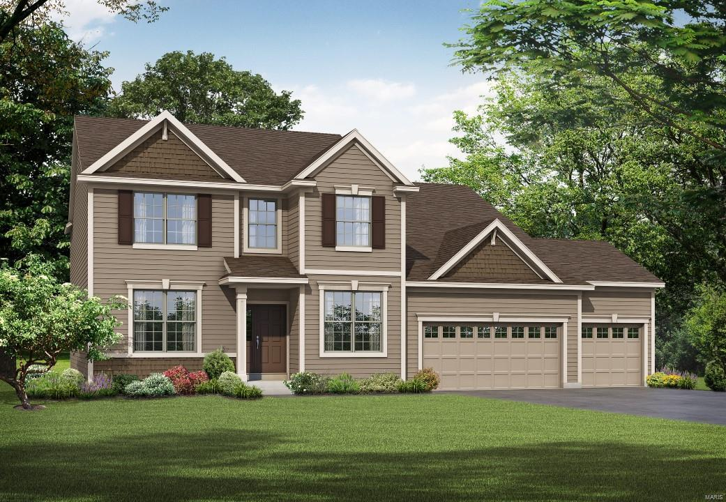 1 Montego II @ Alexander Woods Property Photo - Chesterfield, MO real estate listing
