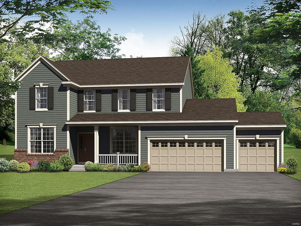 1 Bristol II @ Alexander Woods Property Photo - Chesterfield, MO real estate listing
