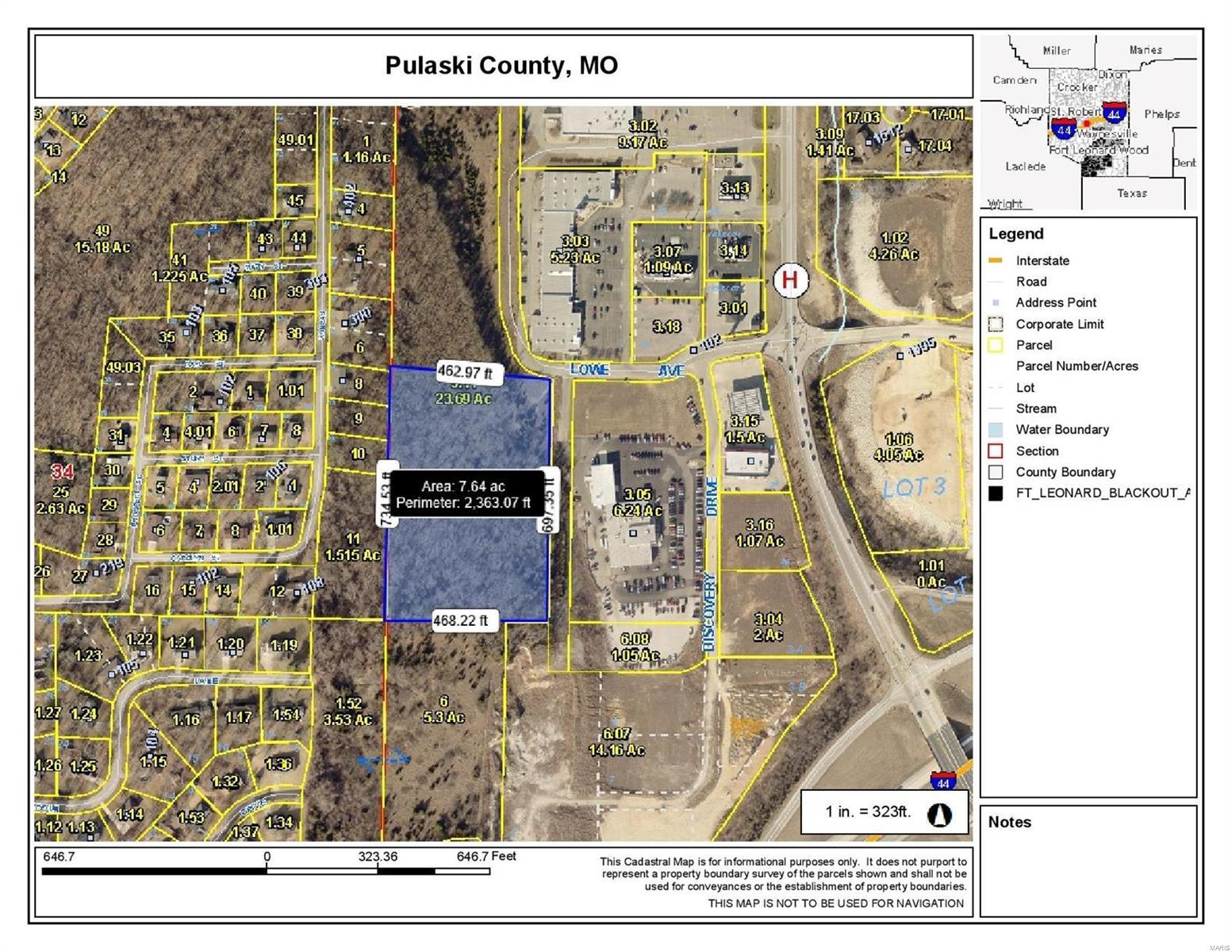 0 Lowe Drive Property Photo - Waynesville, MO real estate listing