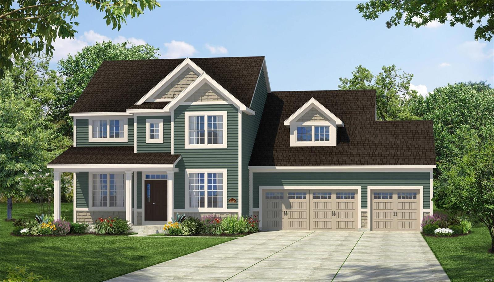 1 Adelaide II @ Alexander Woods Property Photo - Chesterfield, MO real estate listing