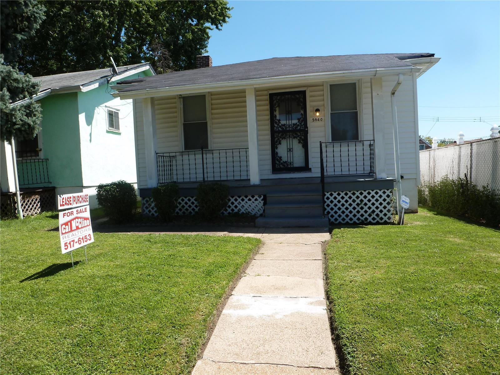 5940 Floy Avenue Property Photo - St Louis, MO real estate listing