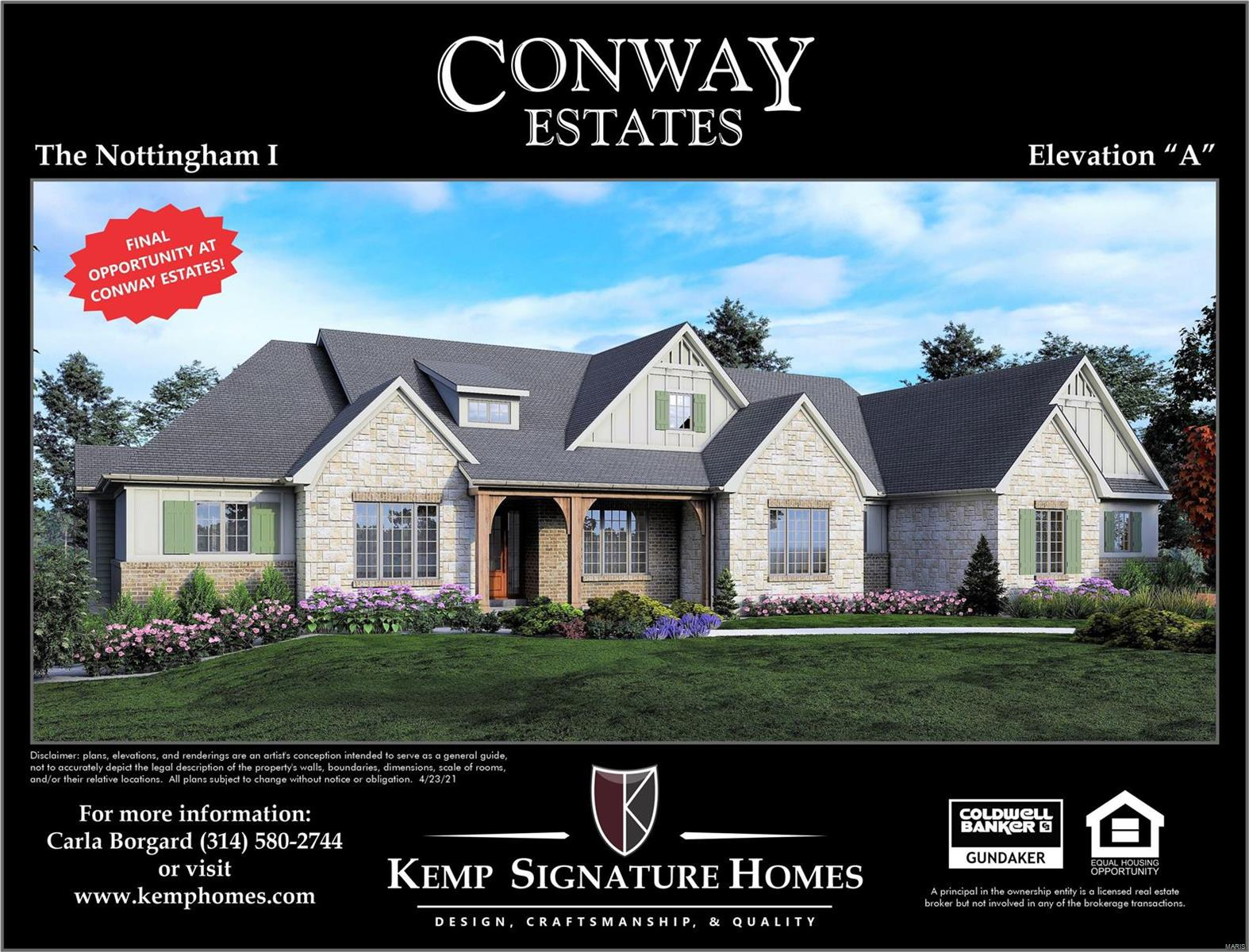345 Upper Conway Estates Court Property Photo - Town and Country, MO real estate listing