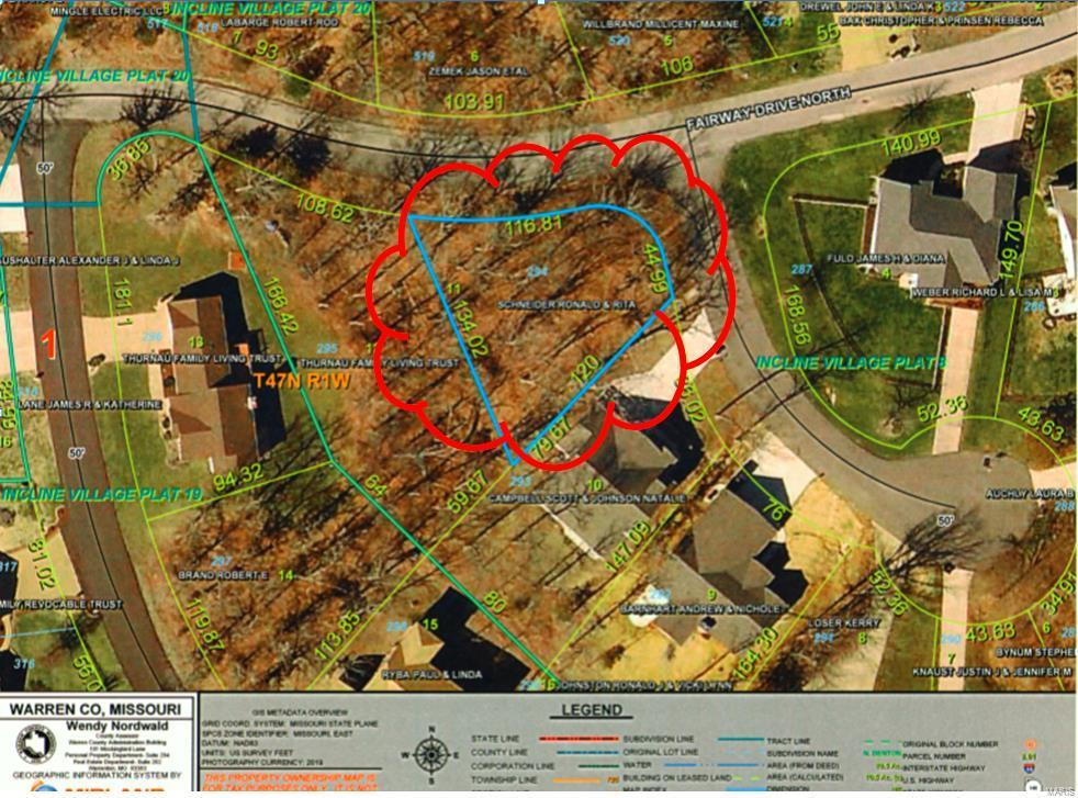 0 Lot 294 Fairway Drive Property Photo - Foristell, MO real estate listing