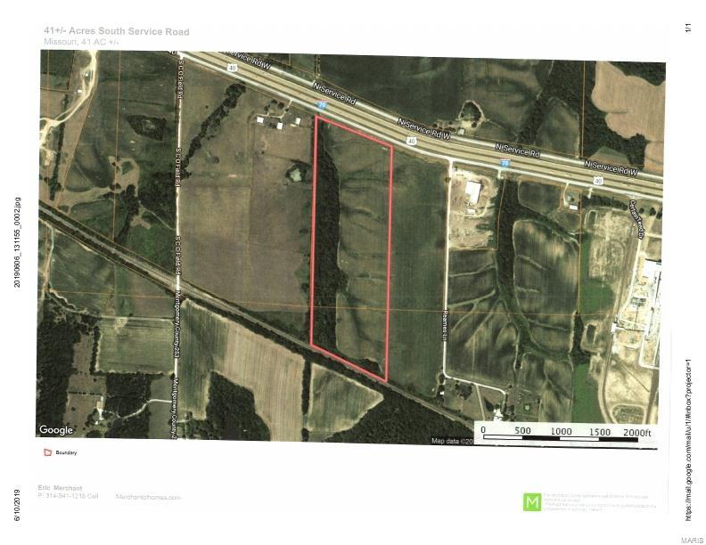 41 S Service Road Property Photo - Jonesburg, MO real estate listing